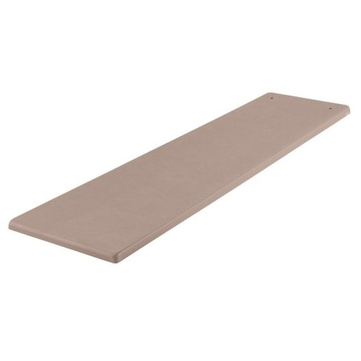 S.R. Smith - 8' Frontier III Diving Board with Salt Pool Jump System Stand, Taupe - 361216