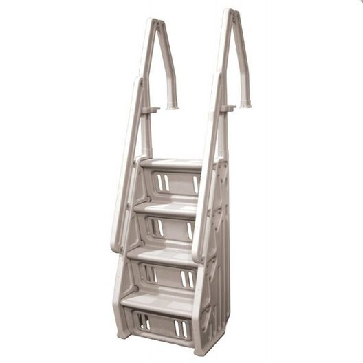 Vinyl Works Of Canada  Deluxe In-Pool Step Ladder Taupe