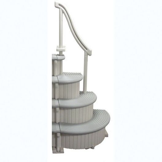 Curve Base In-Pool 4-Step Above Ground Pool Add-On Ladder - 361503