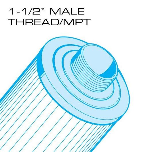 50 sq. ft. Top Load Replacement Filter Cartridge