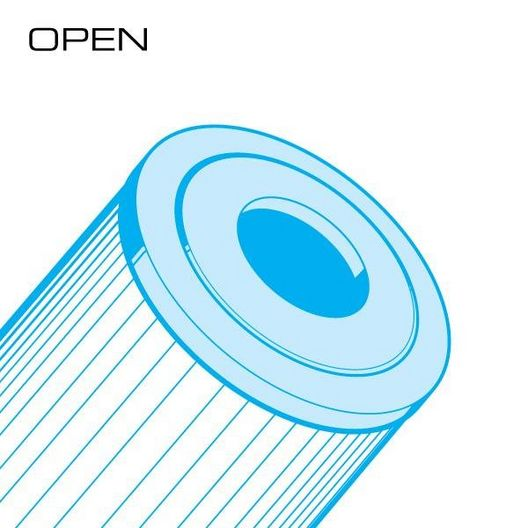 Unicel - 100 sq. ft. Rainbow RTL-100 Replacement Filter Cartridge - 361549