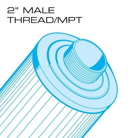 Unicel - 60 sq. ft. Top Load - Master Spas Replacement Filter Cartridge - 361562