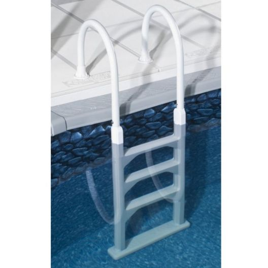Splash - Splash QuickShip Economical Above Ground In-Pool Ladder - 361574