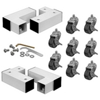 Gli - Replacement Mobile caster kit 8 casters optional - 361576