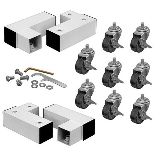 Replacement Mobile caster kit 8 casters optional