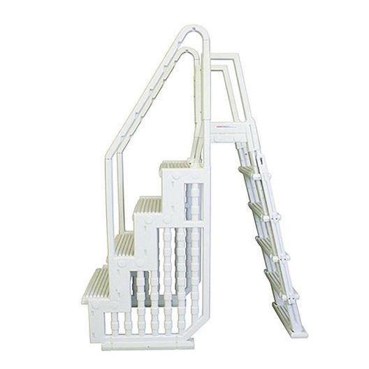Splash - Above Ground Pool Step Entry System with Outside Ladder NE126 - 361611