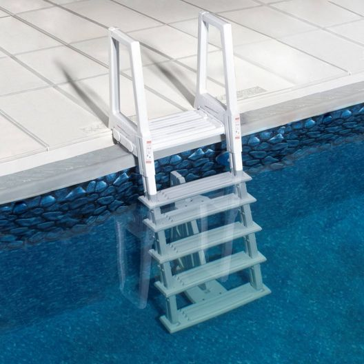 Splash  Deluxe Heavy Duty In-Pool Ladder for Above Ground Pools