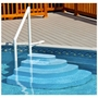 NE100BL Wedding Cake Step for Above Ground Pools in Blue