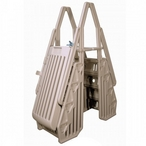 Neptune A-Frame Entry System for Above Ground Pools, Taupe