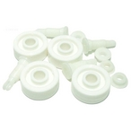 #203 Replacement kit, 4 each, #174 Wheels, #176 Axle Assembly