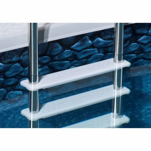 Blue Wave Products - Reverse Bend In-Pool Ladder for Above Ground Pool - 361791