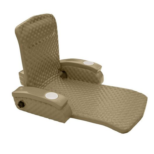 Recliner Foam Pool Float, Bronze