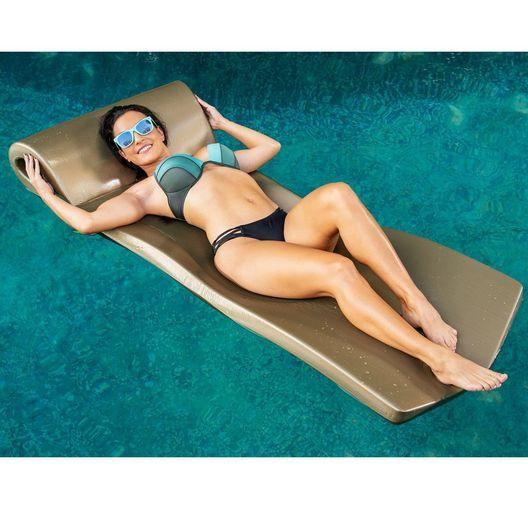 "Texas Recreation - Ultra Sunsation Foam Pool Float,  2-1/2"" Thick, Bronze - 361874"