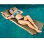 "Ultra Sunsation Foam Pool Float,  2-1/2"" Thick, Bronze"