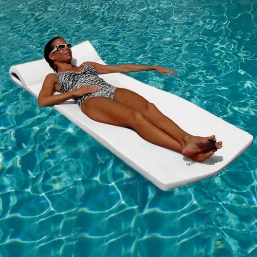 "Texas Recreation - Foam Pool Float, 1-3/4"" Thick, Green Leaf - 361888"