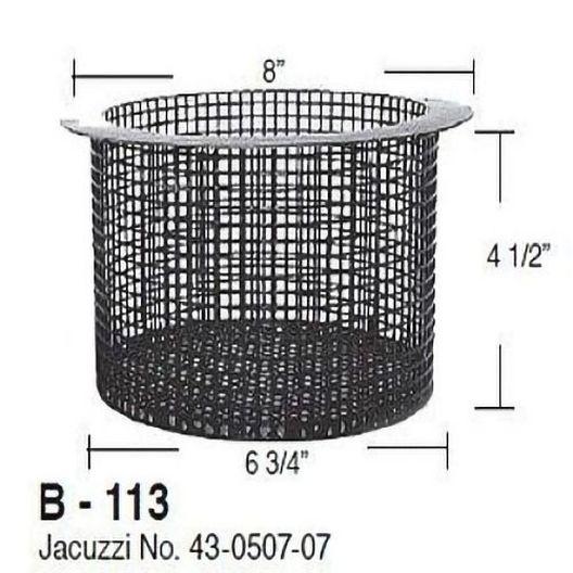 Aladdin Equipment Co - Powder Coated Basket for  43-0507-07 - 36188