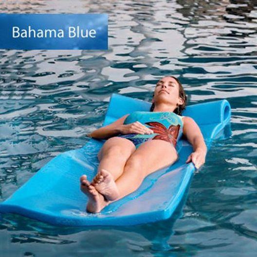 """Foam Pool Float, 1-1/4"""" Thick, Bahama Blue"""