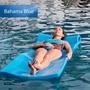 "Splash Foam Pool Float, 1-1/4"" Thick, Bahama Blue"
