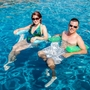 """Pool Float, 3-1/2"""" Thick, Lime"""