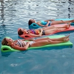 "Serenity Pool Float, 1-1/2"" Thick, Tropical Teal"