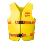 Texas Recreation - Youth Super Soft Life Vest, Yellow - 361929
