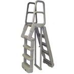 Main Access - A-Frame Resin Ladder, Taupe - 362096