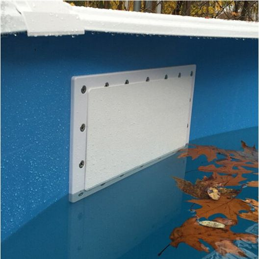 Simpooltec - Skimmer Plug Winter Closure for Hayward Above Ground Pool Skimmers - 362105