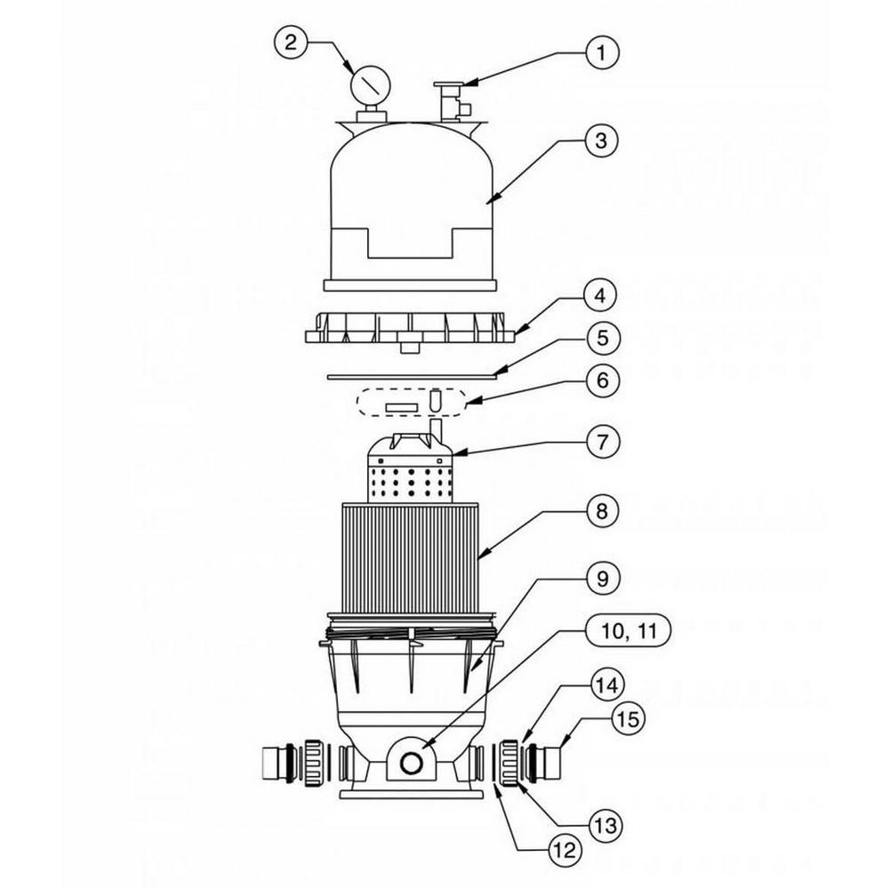 Clean & Clear / Predator Cartridge Filter Parts image