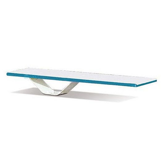 S.R. Smith - 6' Frontier II Diving Board with Frontier II Stand, Marine Blue/White - 364895