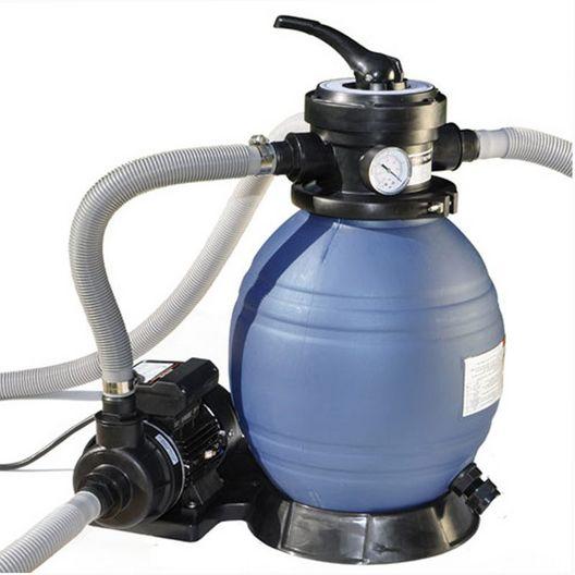 Swimline - Sand Filter Above Ground Pool System with Hi-Flo Single Speed Pump - 365084