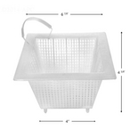 Aladdin Equipment Co - Anthony Skimmer Basket, Square - 36520
