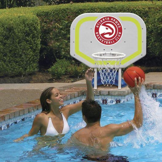 Poolmaster  Atlanta Hawks NBA Pro Rebounder Poolside Basketball Game