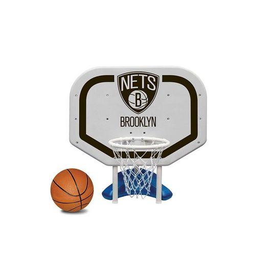 Brooklyn Nets NBA Pro Rebounder Poolside Basketball Game
