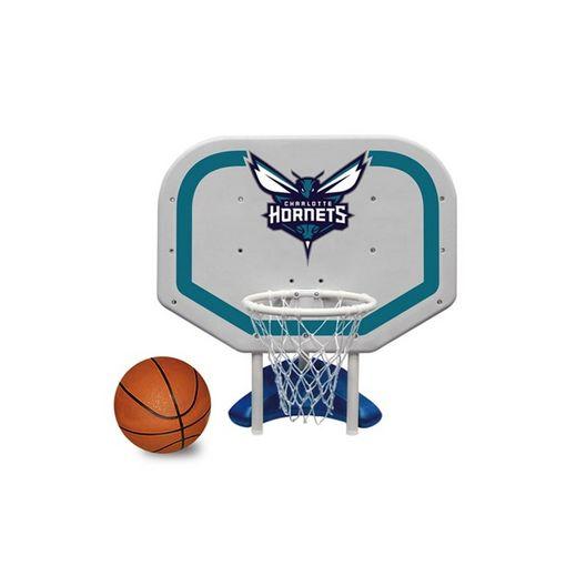 Charlotte Hornets NBA Pro Rebounder Poolside Basketball Game