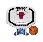 Poolmaster - Chicago Bulls NBA Pro Rebounder Poolside Basketball Game - 365505