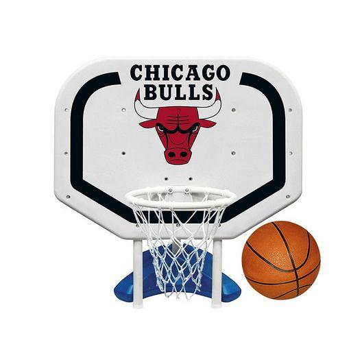 Chicago Bulls NBA Pro Rebounder Poolside Basketball Game