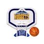 Denver Nuggets NBA Pro Rebounder Poolside Basketball Game
