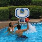 Poolmaster - Golden State Warriors NBA Pro Rebounder Poolside Basketball Game - 365509