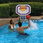 LA Lakers NBA Pro Rebounder Poolside Basketball Game