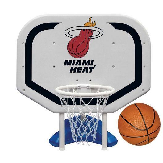 Miami Heat NBA Pro Rebounder Poolside Basketball Game