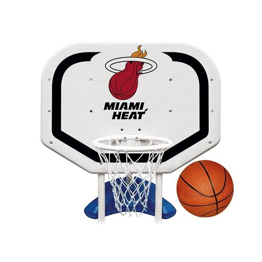 Poolmaster - Miami Heat NBA Pro Rebounder Poolside Basketball Game - 365513