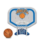 New York Knicks NBA Pro Rebounder Poolside Basketball Game