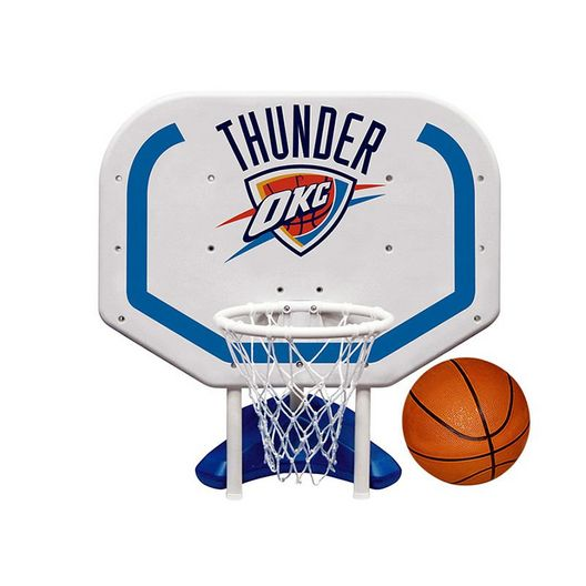 Poolmaster  Oklahoma City Thunder NBA Pro Rebounder Poolside Basketball Game