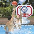 Poolmaster - Philadelphia 76ers NBA Pro Rebounder Poolside Basketball Game - 365521