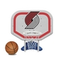 Portland Trail Blazers NBA Pro Rebounder Poolside Basketball Game