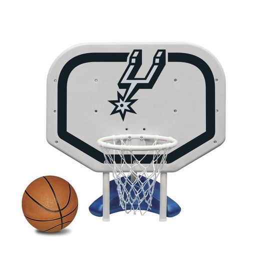 Poolmaster - San Antonio Spurs NBA Pro Rebounder Poolside Basketball Game - 365525