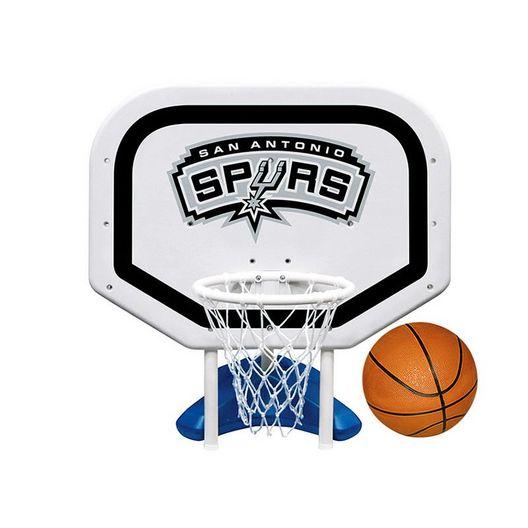 Poolmaster - San Antonio Spurs NBA Pro Rebounder Poolside Basketball Game - 365525