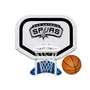 San Antonio Spurs NBA Pro Rebounder Poolside Basketball Game