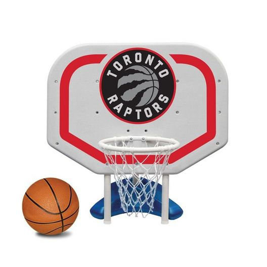 Toronto Raptors NBA Pro Rebounder Poolside Basketball Game