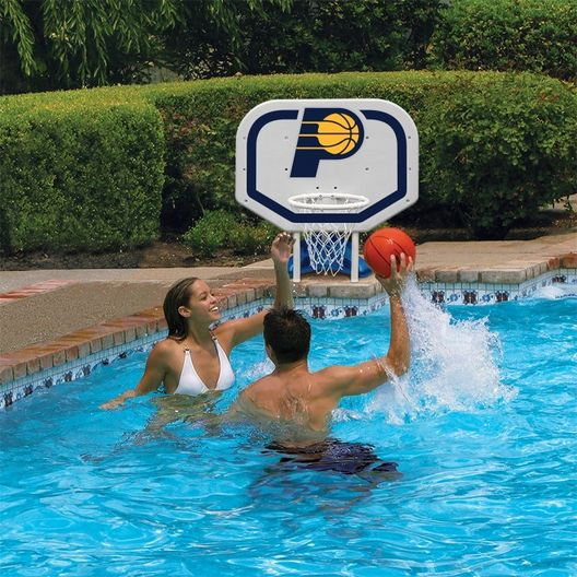 Poolmaster - Indiana Pacers NBA Pro Rebounder Poolside Basketball Game - 365549